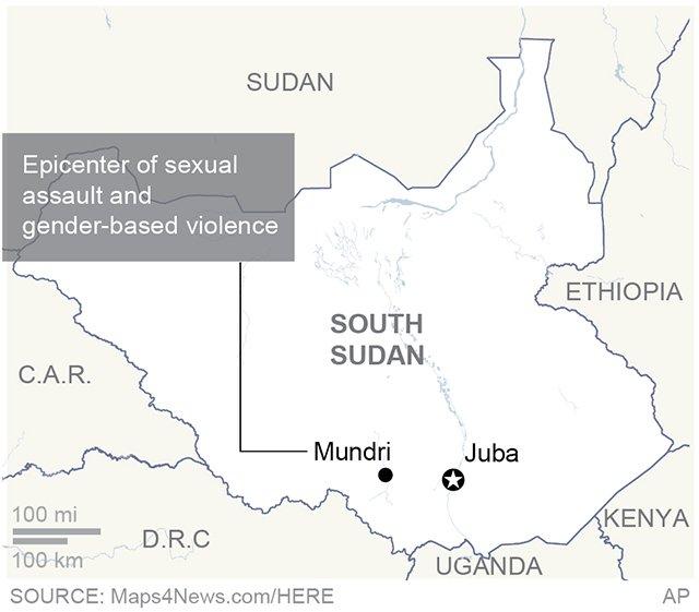 SOUTH SUDAN SEX ASSAULT