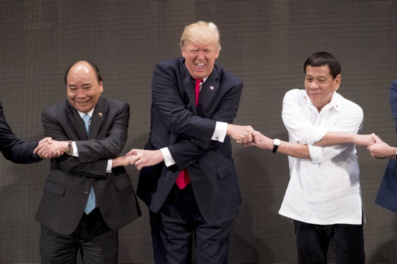 Donald Trump, Rodrigo Duterte, Nguyen Xuan Phuc