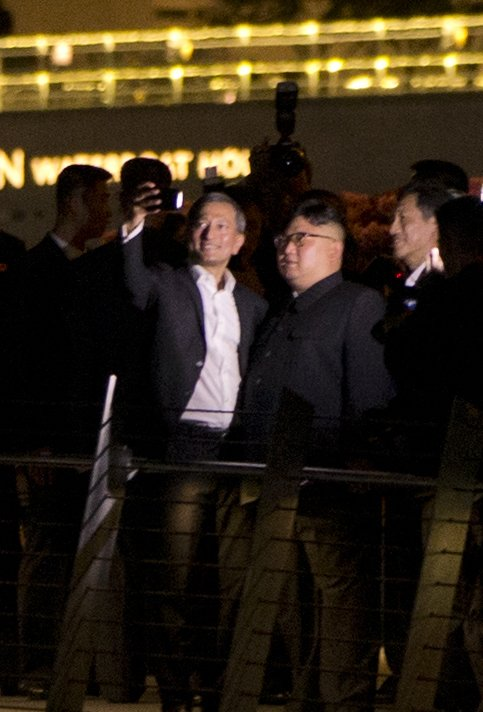 Kim Jong Un, Vivian Balakrishnan