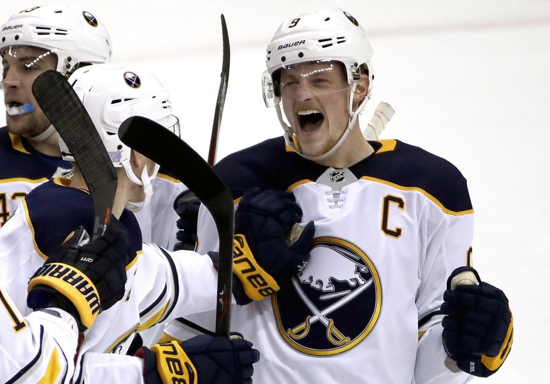 sports shoes 29837 1c1ae Worst in NHL last season, Sabres are surging after 9-0 run