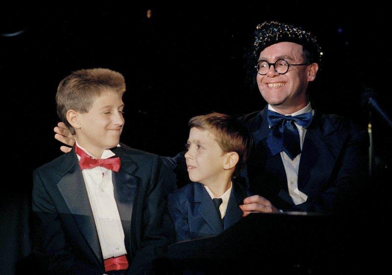 Ryan White Jason Robertson Elton John