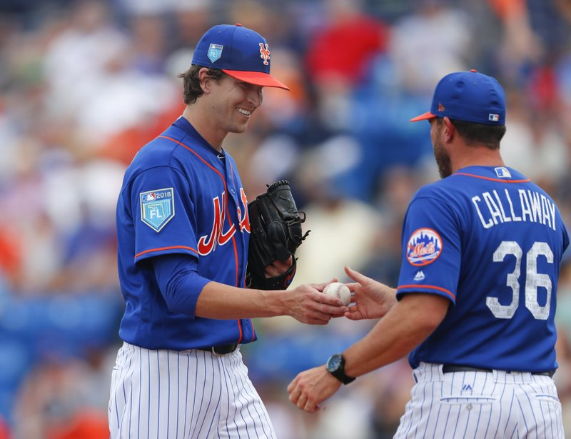 Jacob deGrom, Mickey Callaway