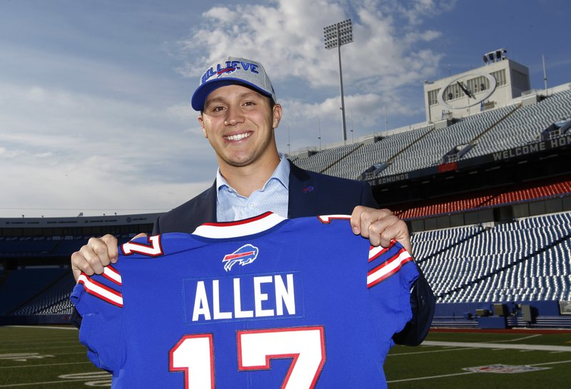 pretty nice 9a511 25437 QB Allen eager to clear the air with Bills teammates