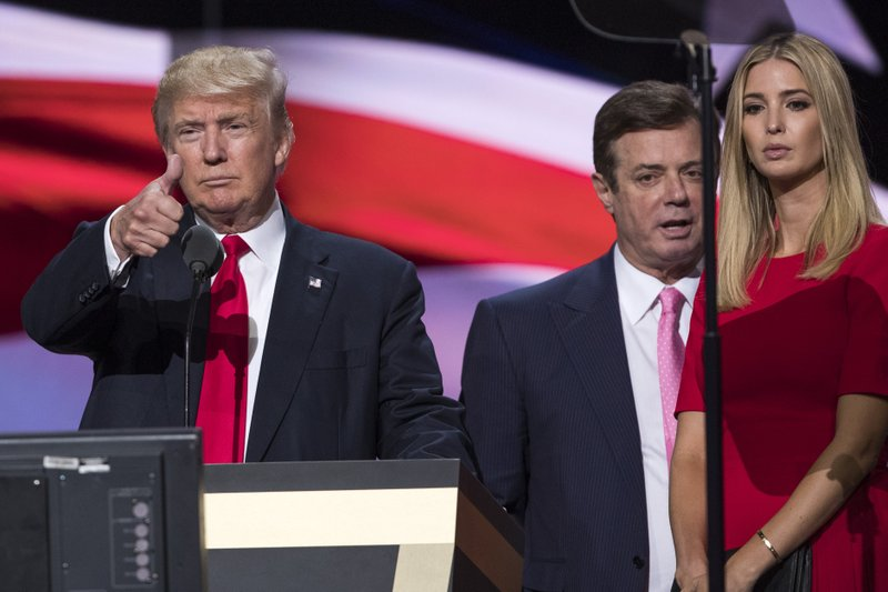 Donald Trump, Ivanka Trump, Paul Manafort