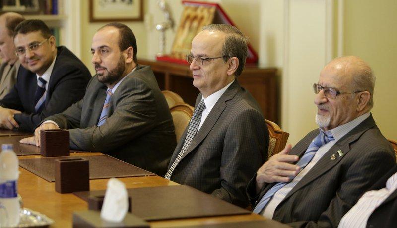 Haitham al-Maleh, Hadi Bahra, Nasr al-Hariri