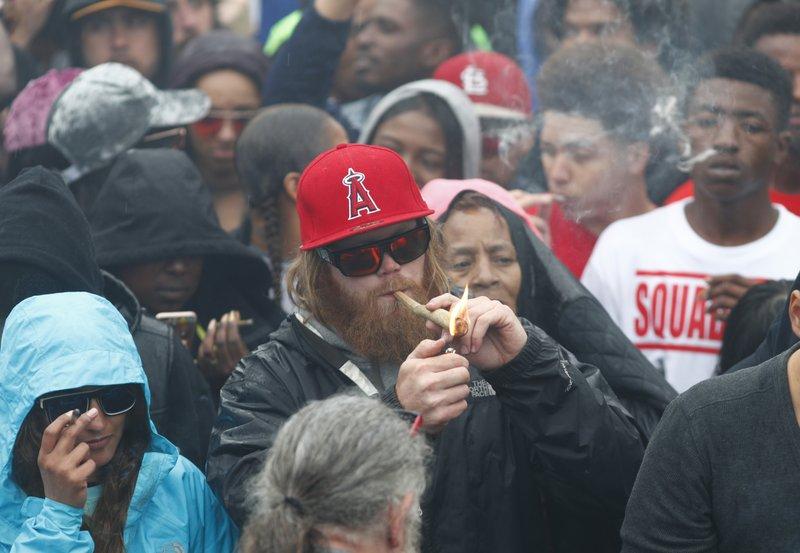 Marijuana enthusiasts