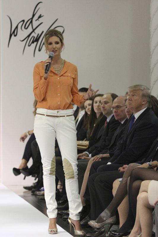 Ivanka Trump, Donald Trump