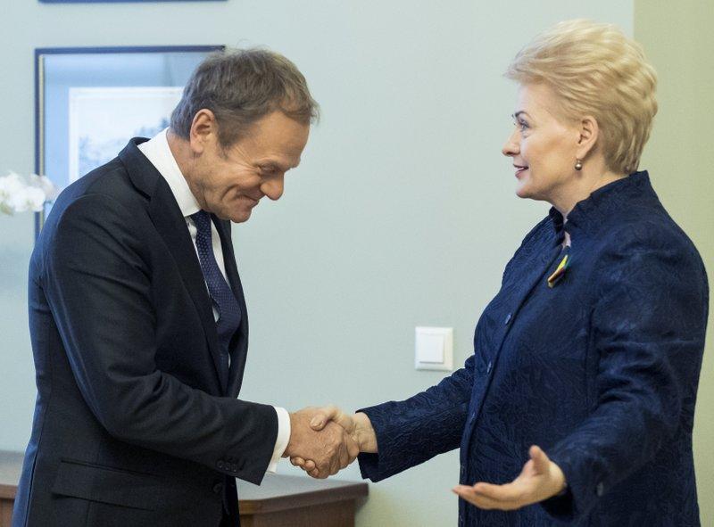 Donald Tusk, Dalia Grybauskaite