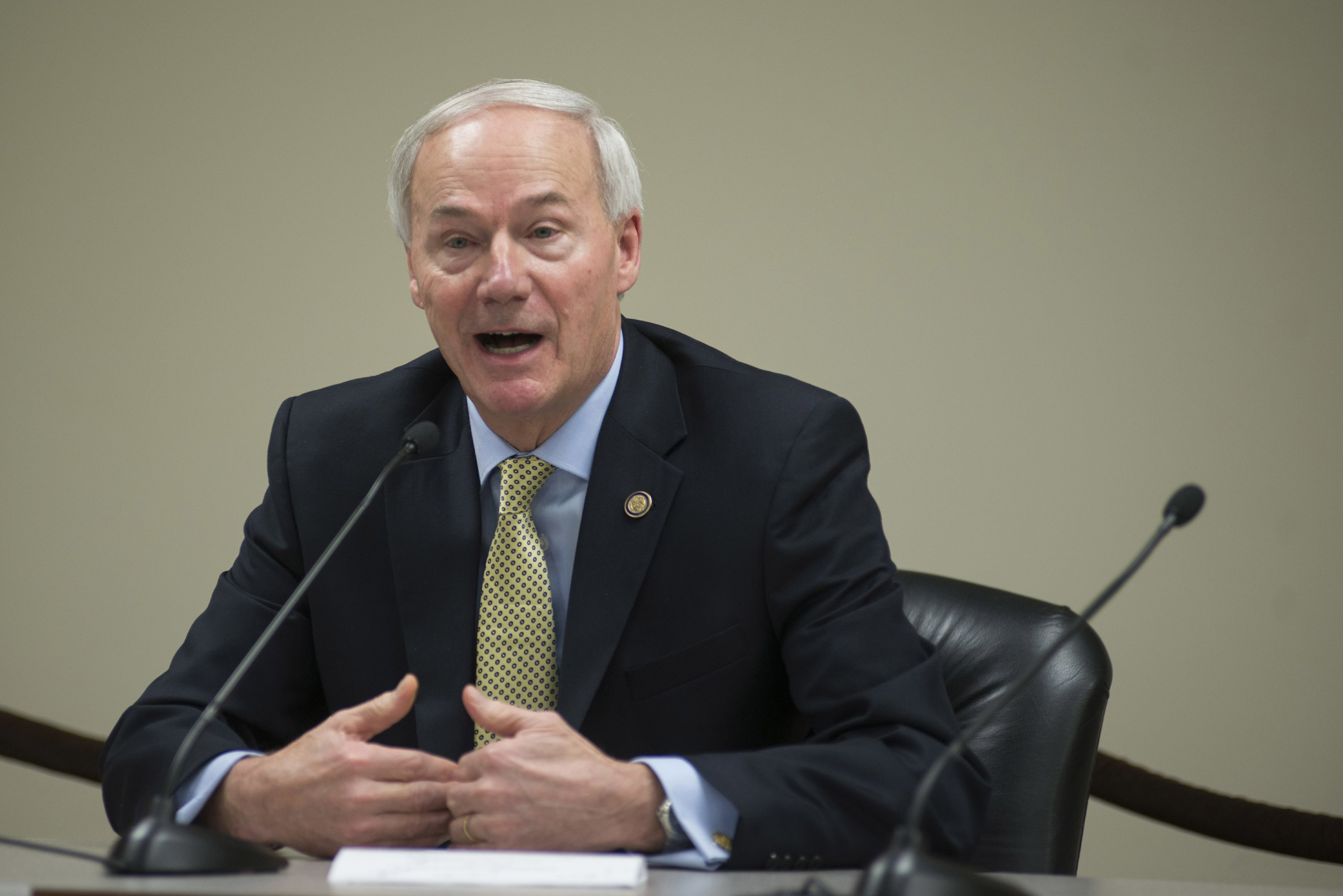 The Latest: Arkansas governor 'disappointed' in delay