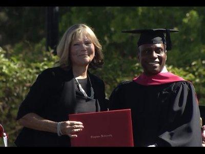 Mom Awarded MBA For Helping Quadriplegic Son