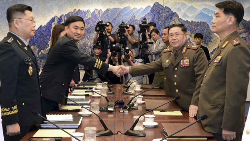 Generals from rival Koreas end talks with no agreement
