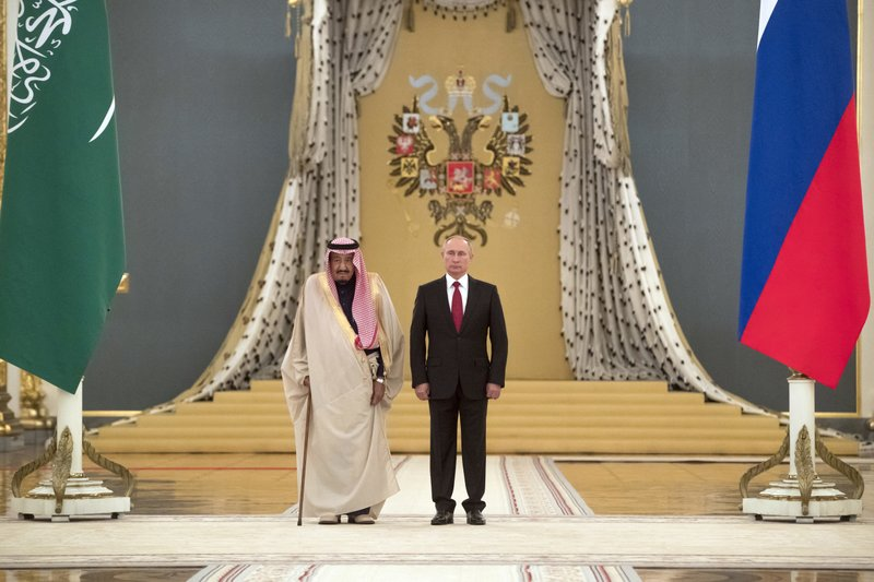 Salman, Vladimir Putin