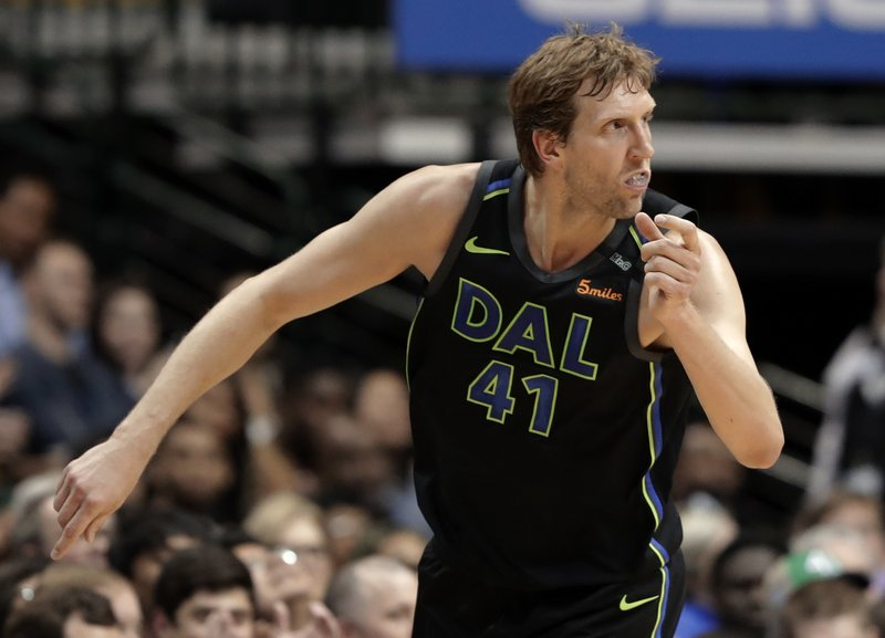 Nowitzki s 20th season with Mavs ends early after surgery bcdb63b2f1eae