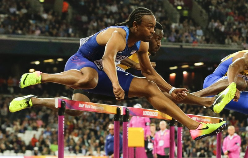 """the day i overcame the hurdles to be champion The hurdles were only 30 inches high, compared to the 39-inch height of the 120-yard high hurdles in his first race, he hit every hurdle """"he ran through 'em all,"""" rod's brother jimmy recalled."""