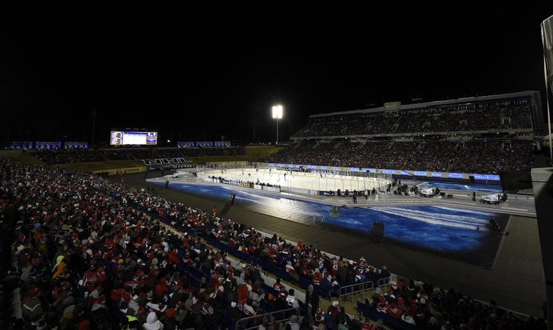Power surge knocks out lights at nhl outdoor game workwithnaturefo