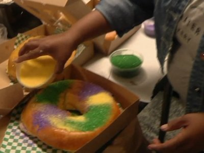 Cakes Are 'King' at Mardi Gras in New Orleans
