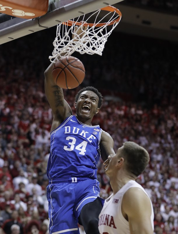 057fe7b53f7c No. 1 Duke uses late run to pull away from Indiana 91-81