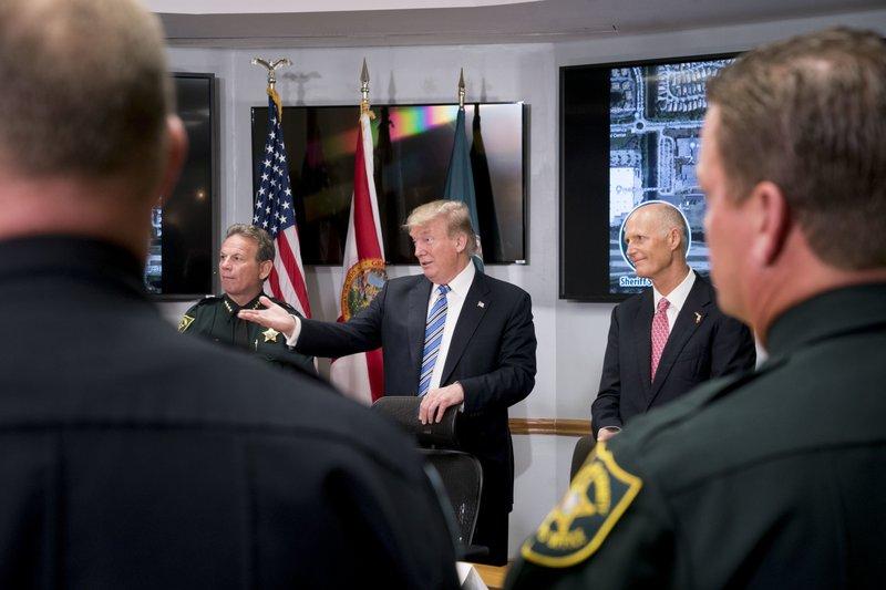 Donald Trump, Rick Scott, Scott Israel