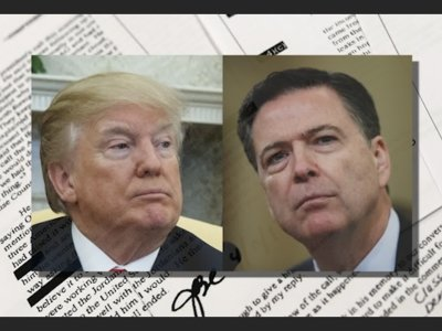 Memos Pull Back Curtain on Trump, Comey Tensions