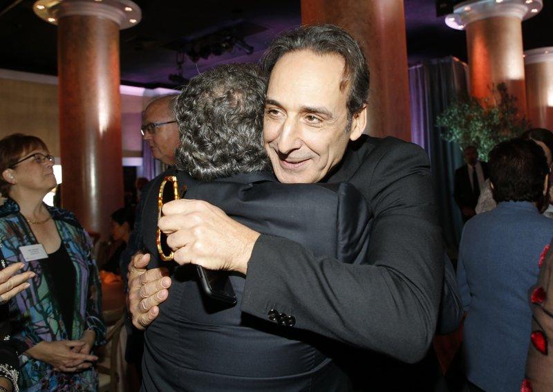 Jim Gianopulos, Alexandre Desplat