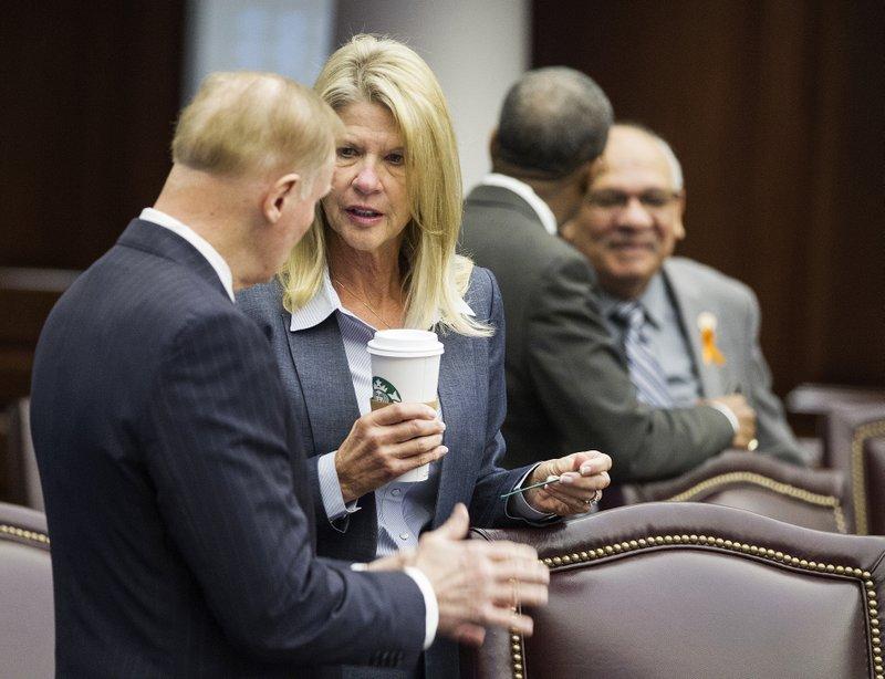 Sen.David Simmons, Sen. Debbie Mayfield