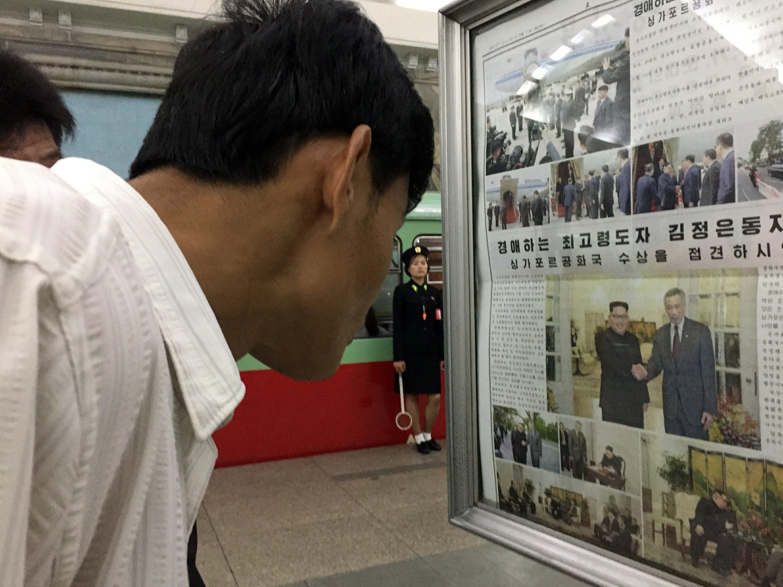 North Korea gets first big dose of Trump summit news