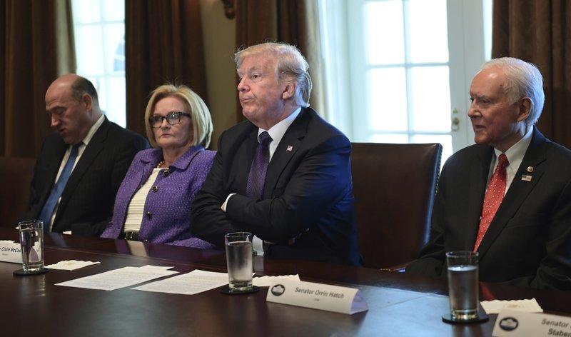 Donald Trump, Claire McCaskill, Gary Cohn, Orrin Hatch