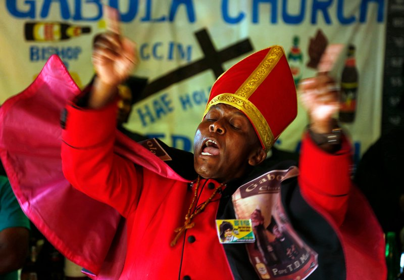 New South African church celebrates drinking alcohol