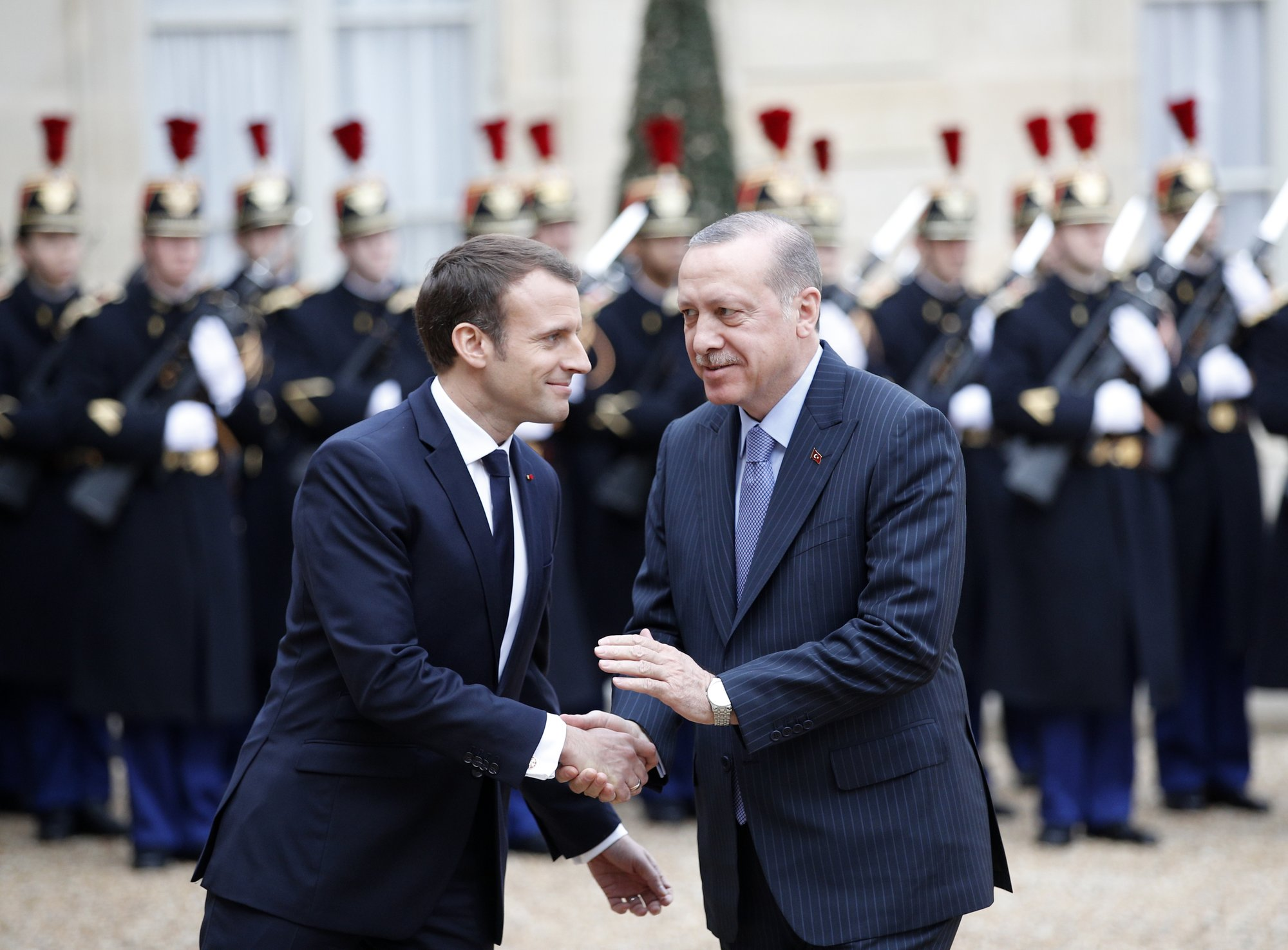 The Latest In Paris Erdogan Calls Turkey A State Of Law