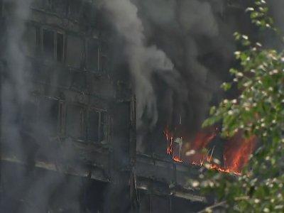 Fire Crews Still Searching Blazing London Block
