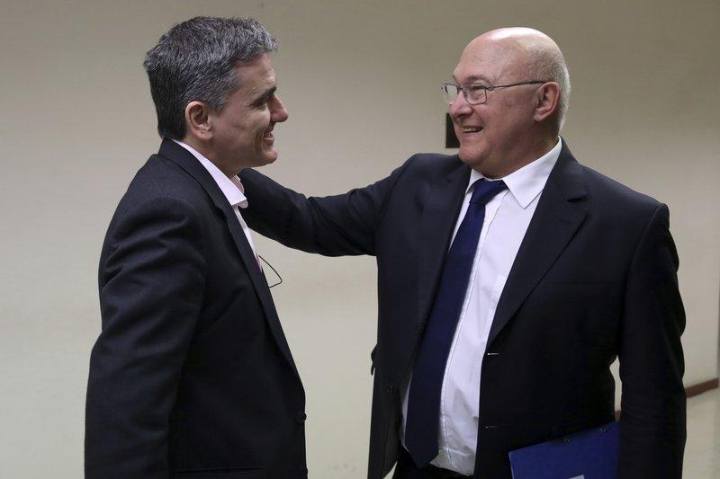 Euclid Tsakalotos, Michel Sapin