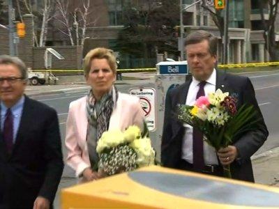 Toronto Officials Honor Van Attack Victims