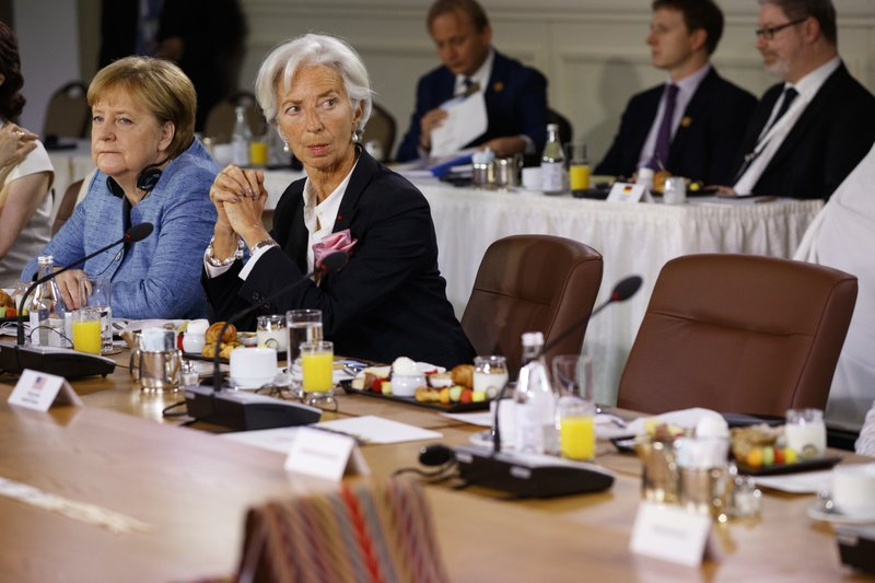 Angela Merkel, Christine Lagarde