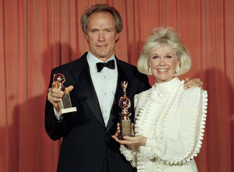 ClintEastwood, Doris Day