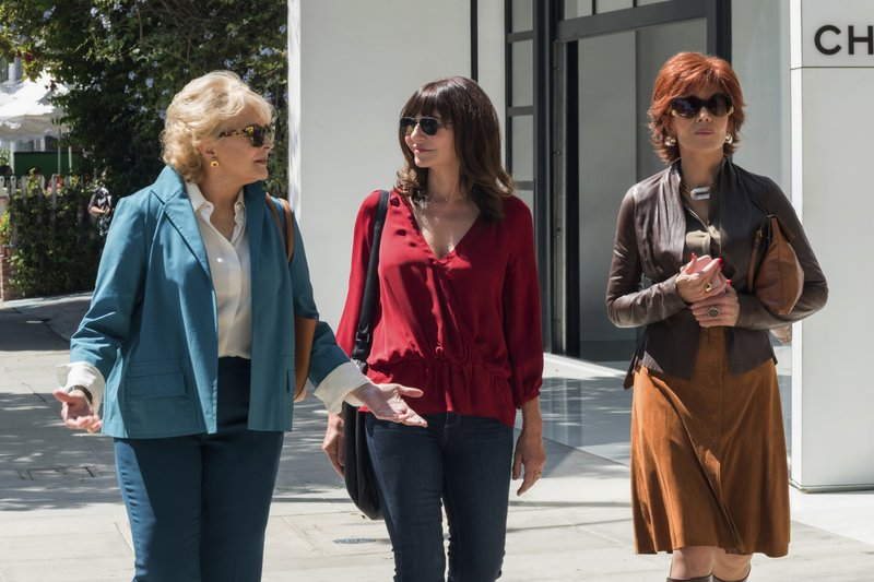 Candice Bergen, Mary Steenburgen, Jane Fonda