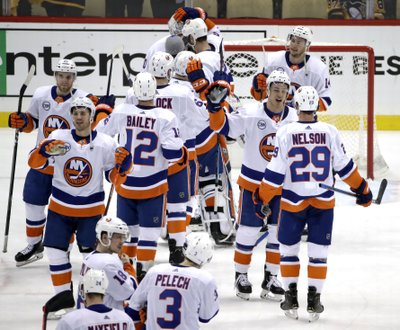 f055e233b7f PITTSBURGH (AP) — The expectations were modest at first. The New York  Islanders simply wanted to be better than the team that allowed the most  goals in the ...