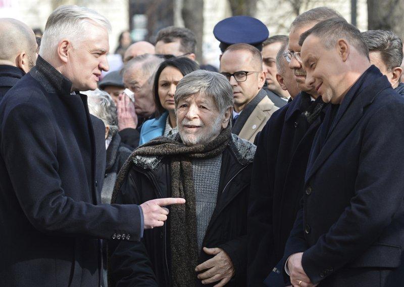 Andrzej Duda, Shevah Weiss, Jaroslwa Gowin