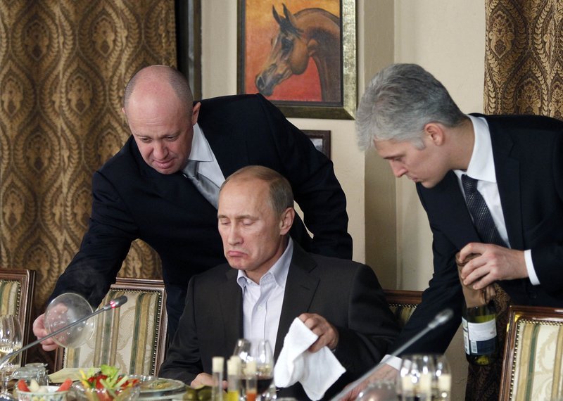 Vladimir Putin, Yevgeny Prigozhin