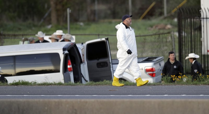 Texas bombing suspect blows himself up as SWAT moves in