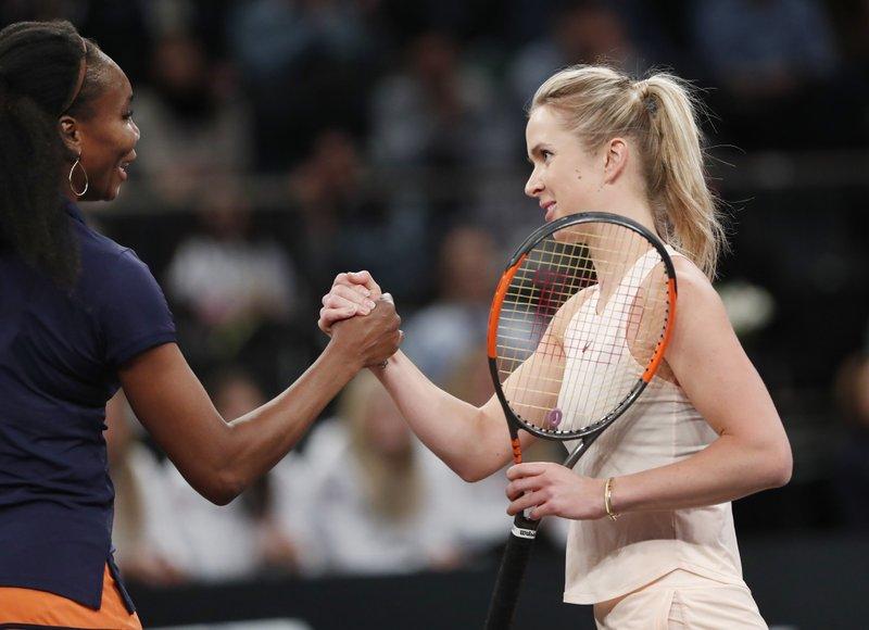 Venus Williams, Elina Svitolina