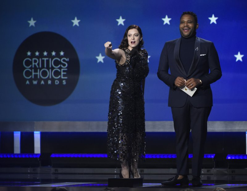 Rachel Bloom, Anthony Anderson