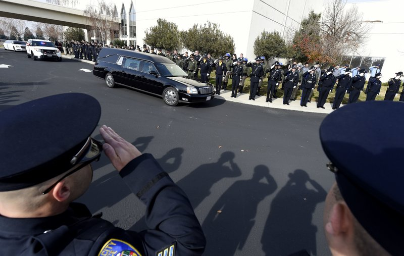 Memorial held for CHP officer killed in suspected DUI crash