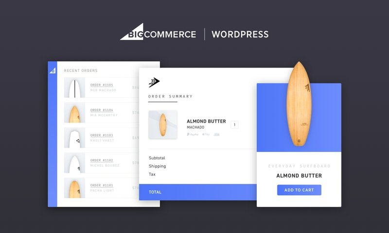 BigCommerce for WordPress Marries Scalable Commerce and Limitless Content