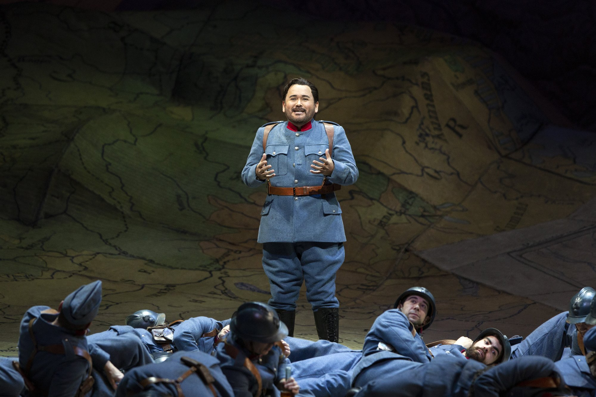 Tenor on top of the high C's in Donizetti opera