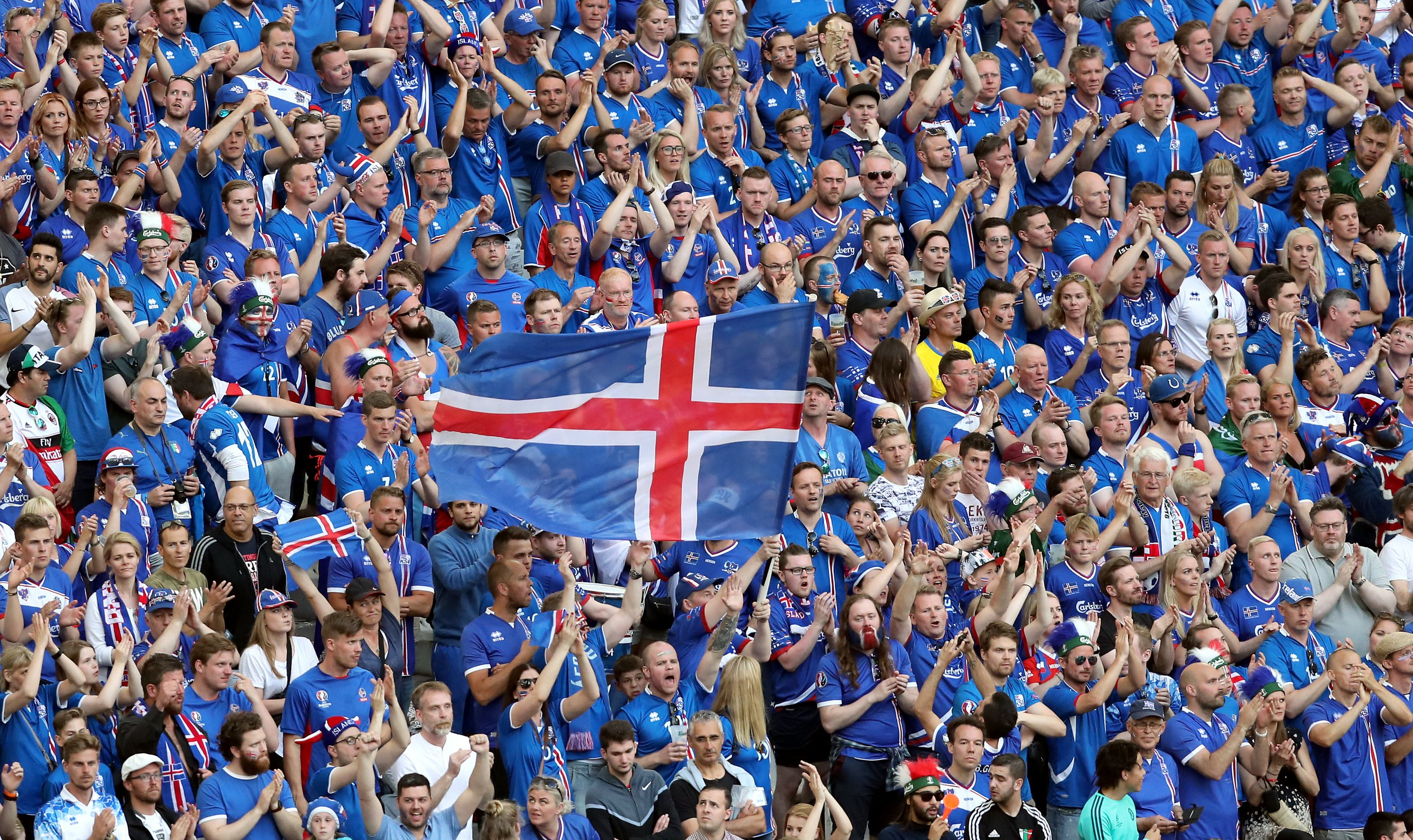Iceland's underdogs keen for Euro 2016 adventure to continue