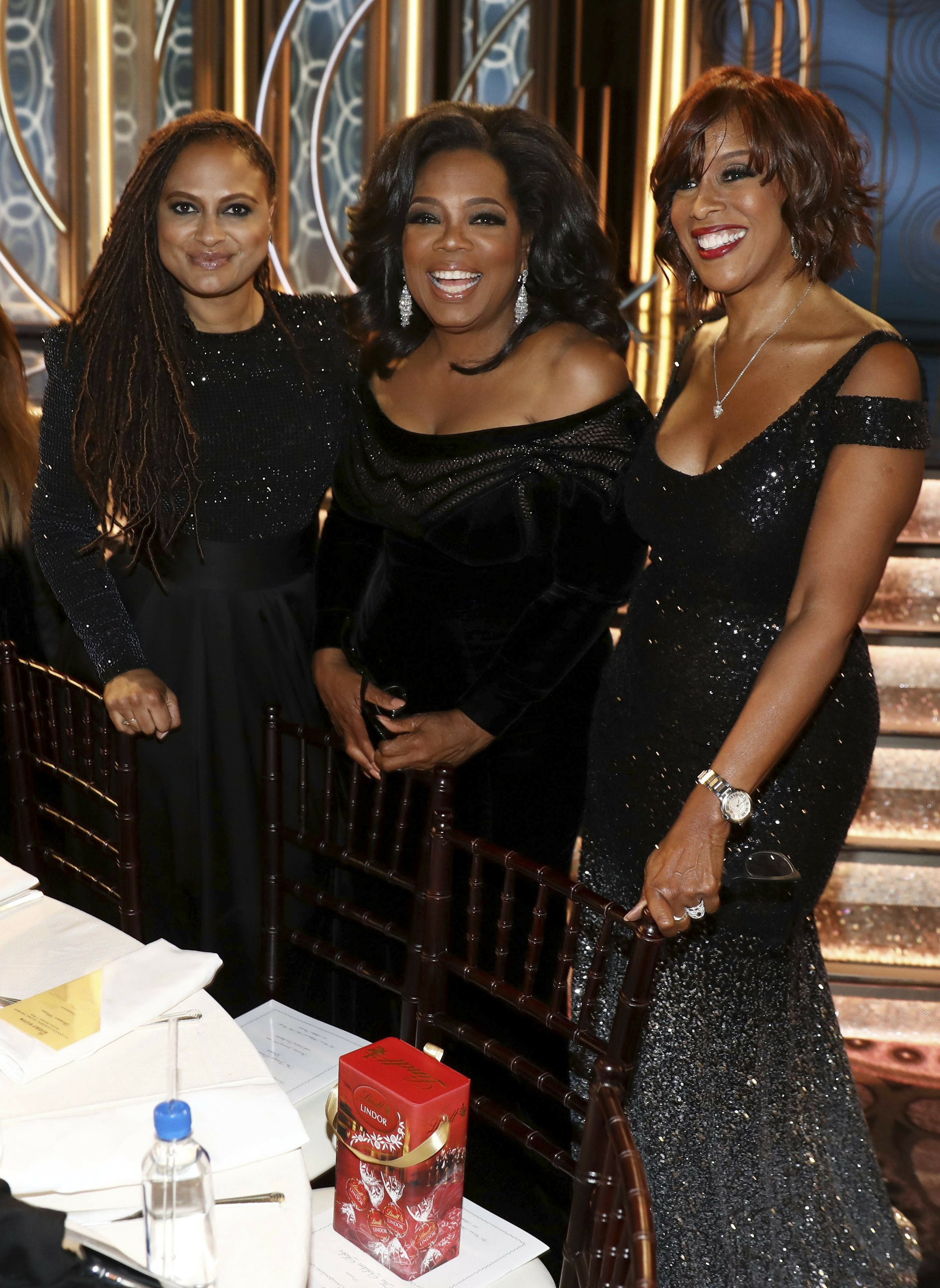 The Latest: Trump says he doesn't think Winfrey will run
