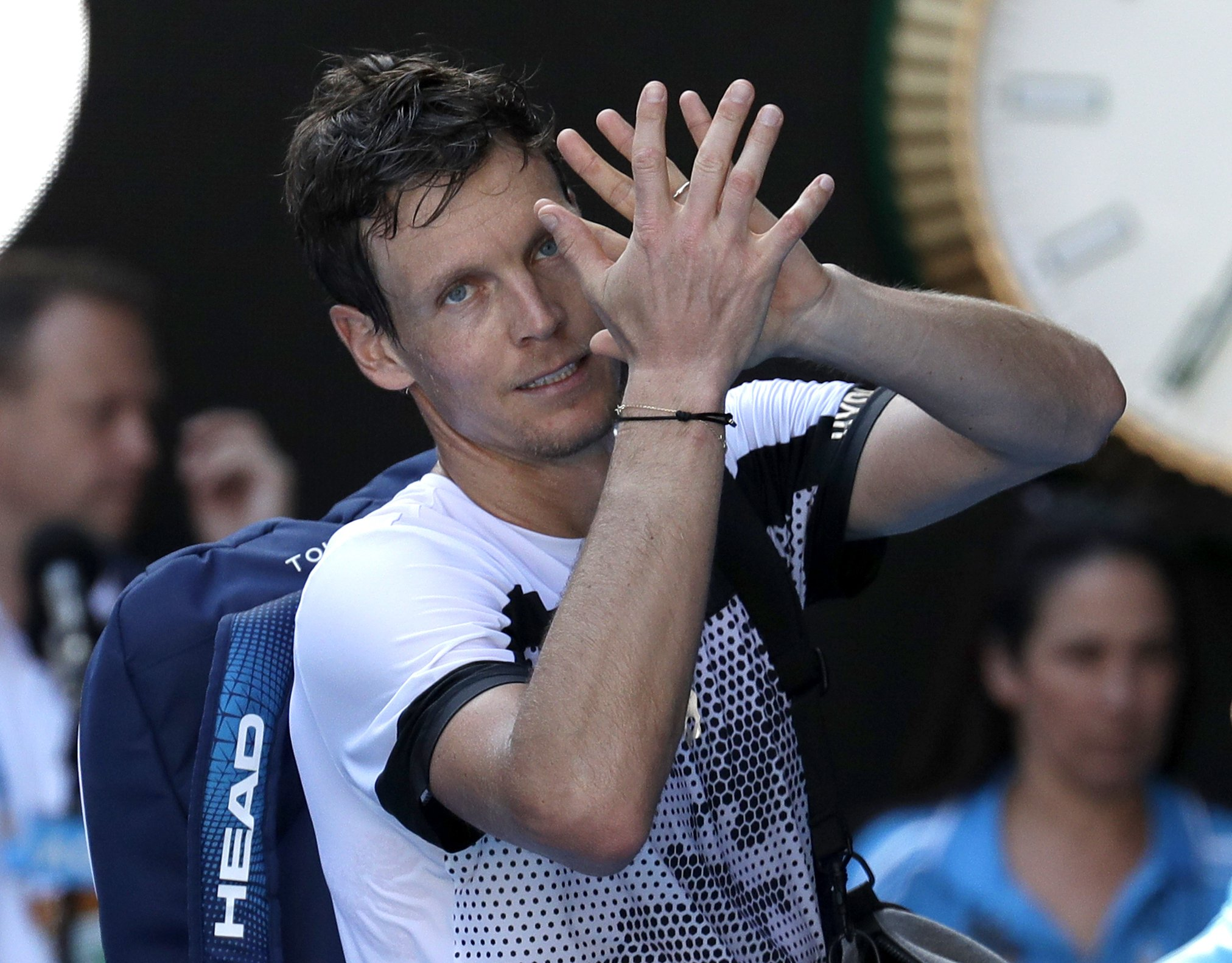 Berdych saves 2 match points on way to Montpellier semis