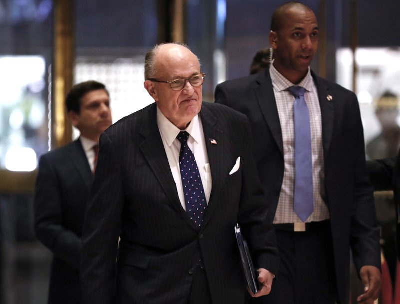 Giuliani removes himself from State Department consideration