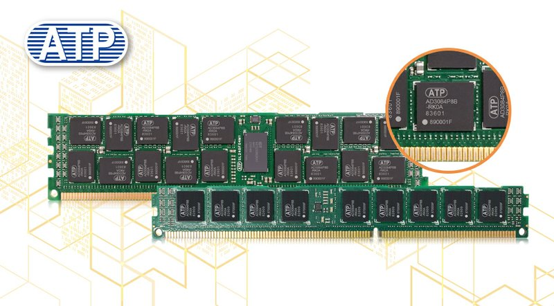 Atp Prevents Ddr3 Supply Shortage With New Own Built Ddr3 8 Gbit Components And Modules