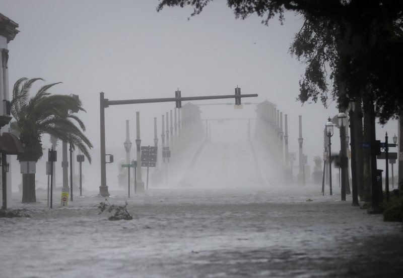 The Latest: Section of I-95 closes in South Carolina